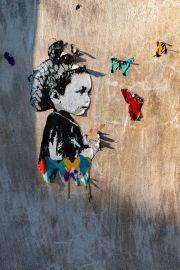 Wandbild im Stadtteil San Telmo