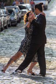 Tango Tänzer bei der Foto Session
