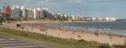 der lange Stadtstrand von Montevideo