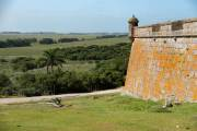 Das alte spanische Fort in Santa Teresa