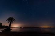 Sonnenuntergang am Rio Uruguay in Frey Bentos