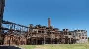 die alten Industrieanlagen in Frey Bentos
