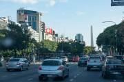 das Zentrum der argentinischen Hauptstadt