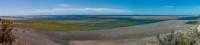 Panorama  der Küste bei Caleta Valdes