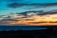 Blick in Richtung Puerto Madryn von der Peninsula Valdes aus