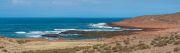 Die Küste auf dem Weg zur Spitze des Kaps