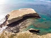 Insel im Nationalpark Monte Leon