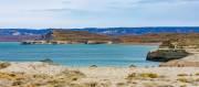 Blick über die Küste von Monte Leon