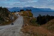Die Ruta 3 zwischen Tolhuin und Ushuaia