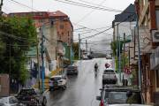 Ushuaia begrüßt uns mit Regen