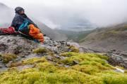 Martial Gletscher über Ushuaia
