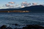 Der Beagle Kanal mit den Islas de Tierra del Fuego