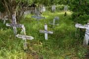 der alte Friedhof der Estancia Haberton