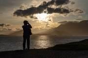 Sonnenuntergang über Ushuaia