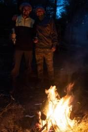 Auf dem Feuer wird das Wasser für den Matetee heiß gemacht