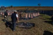 Bei der Fiesta gibt es reichlich gegrilltes Lamm für alle