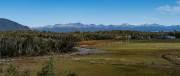 Blick von Tolhuin in die Berge im Süden