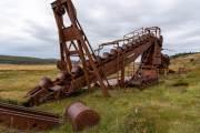 Maschine aus Goldsucherzeiten