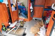 Reparatur der Dusche