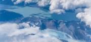 Chile von oben auf dem Flug nach Santjago