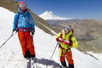 18 Skitouren Elburz Gebirge